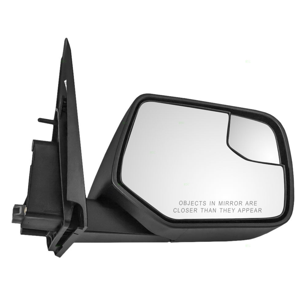 Autoandart Com Ford Escape Mercury Mariner New Passengers Power Side View Mirror Glass Housing With Blind Spot Glass