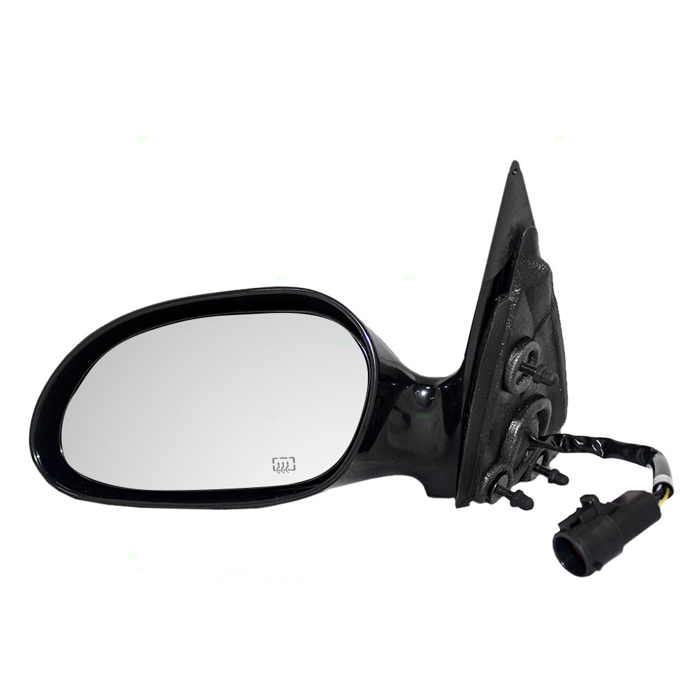 Picture of 96 99 ford taurus mercury sable new drivers power side view mirror glass