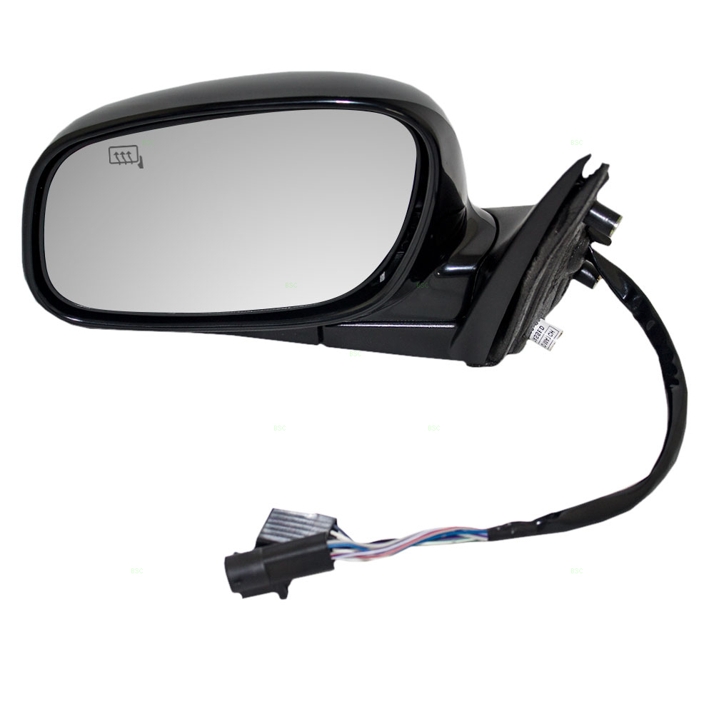 Pair Side Power Mirrors fits 98-02 Lincoln Town Car Heated Memory Smooth Set