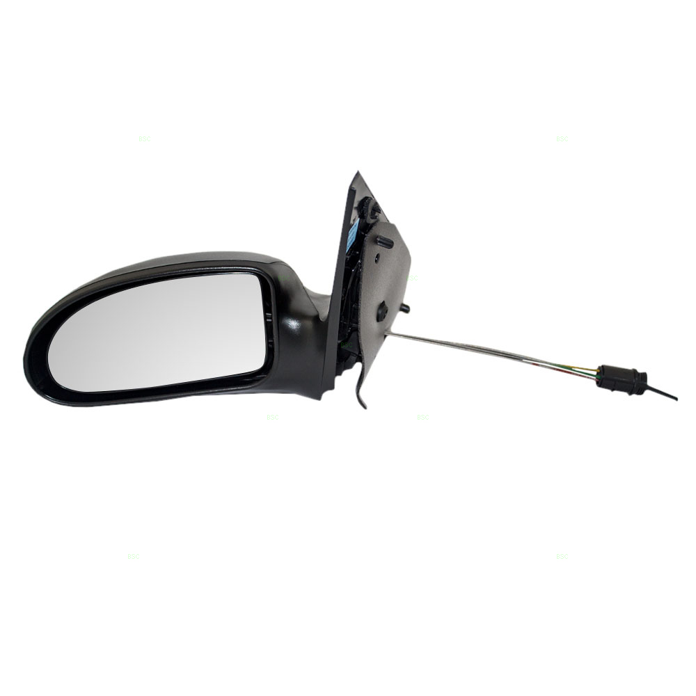02 07 Ford Focus Drivers Side View Manual Remote Mirror Textured Assembly