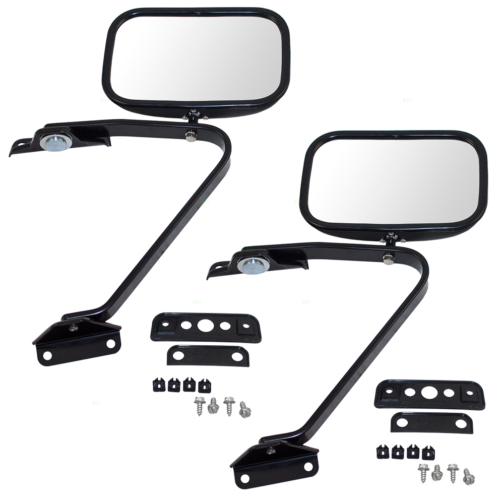 1991-1994 Ford Explorer Dependable Direct . 1983-1992 Ford Ranger 1980-1996 Ford F-150 F-250 F-350 Bronco Driver Side Side View Mirror for 1980-1983 Ford F-100 1984-1990 Ford Bronco II