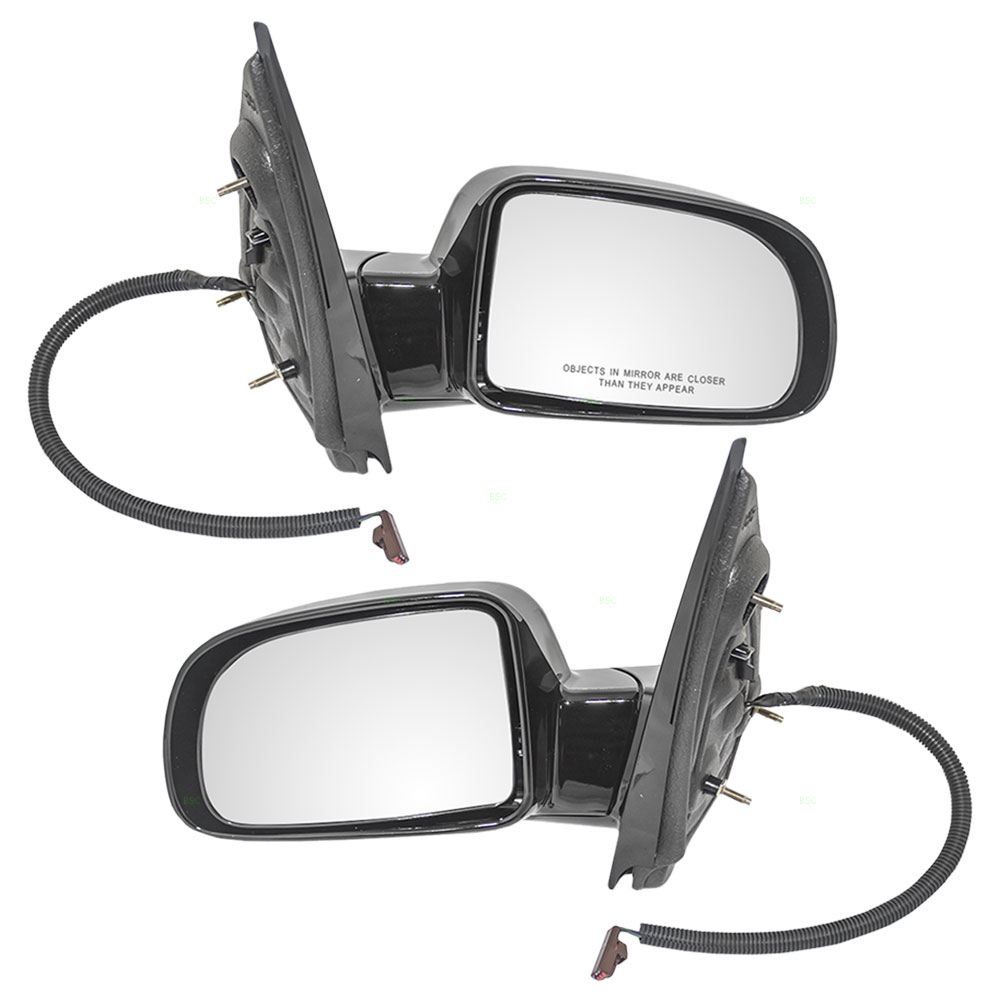 Mercury Monterey Ford Freestar Set Of Side View Power Smooth Mirrors