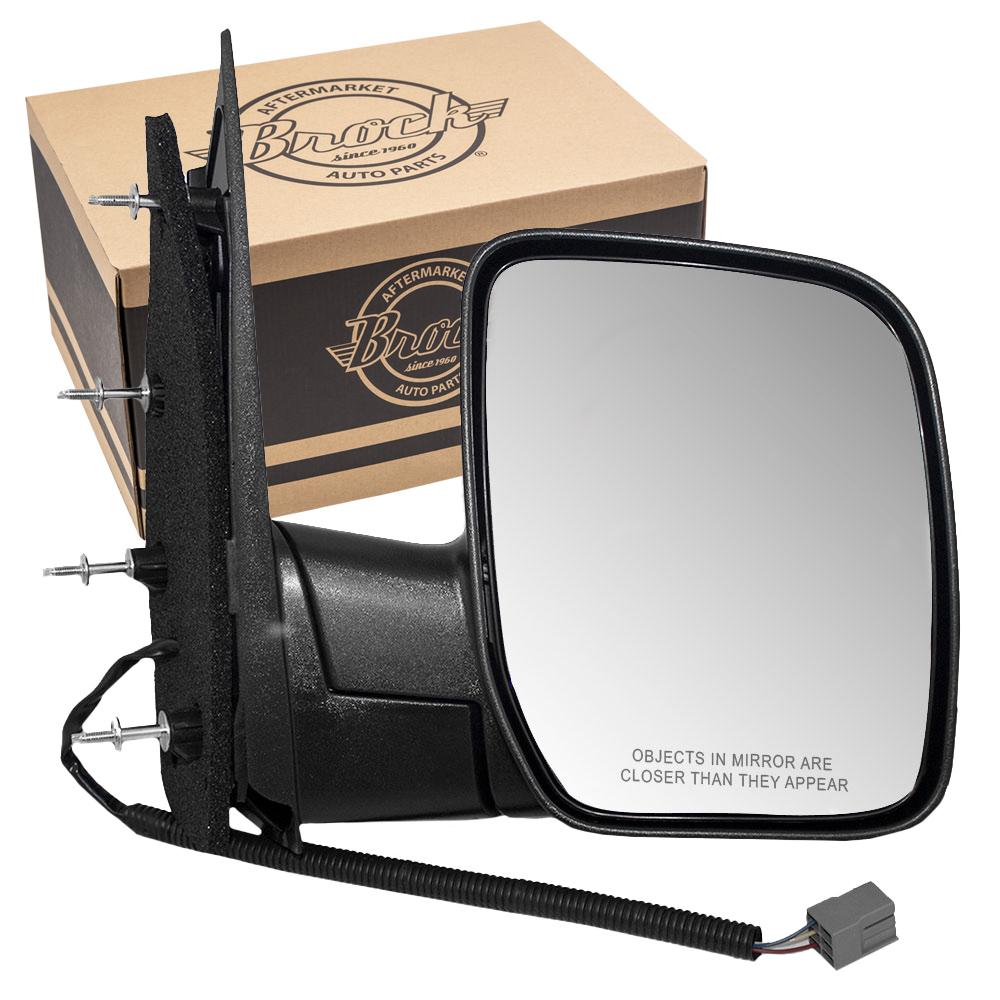 New FO1321288 Passenger Side Mirror for Ford E-350 Super Duty 2007-2008