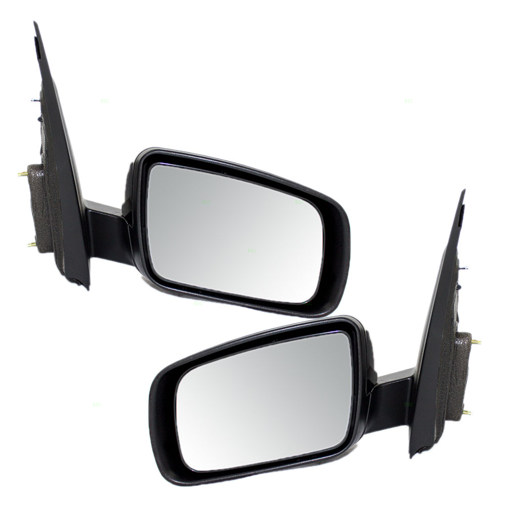 Autoandart Com 05 07 Ford Freestyle New Pair Set Power Side Mirror Glass Housing Heated Puddle Lamp Memory