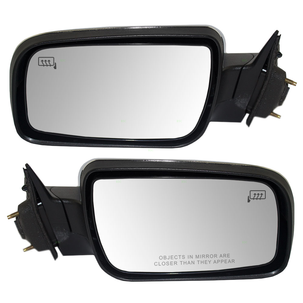 Picture of 08 09 ford taurus mercury sable new pair set power side view mirror