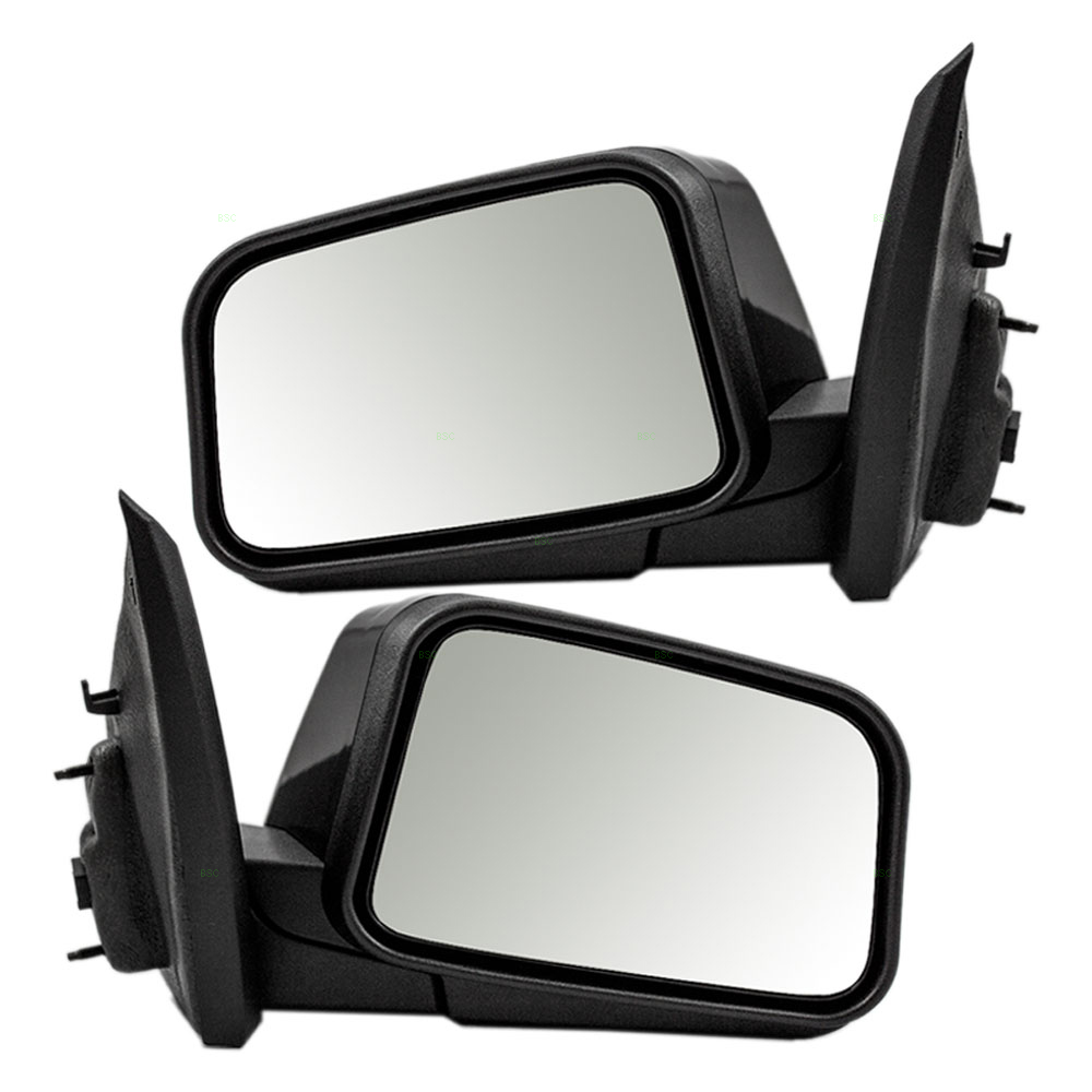 Ford Edge Set Of Side View Power Mirrors Heated Memory Puddle Lamp Ready To