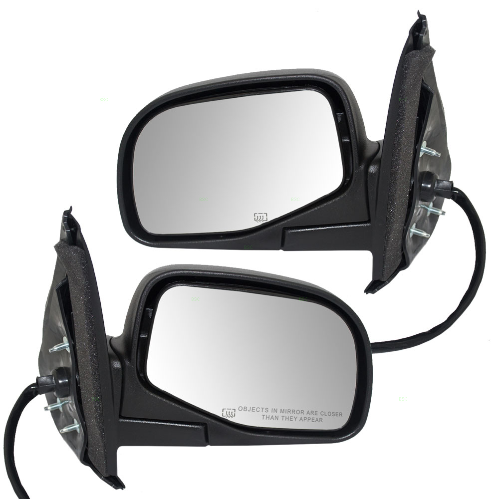 98 01 Ford Explorer Mercury Milan Set Of Side View Power Mirrors