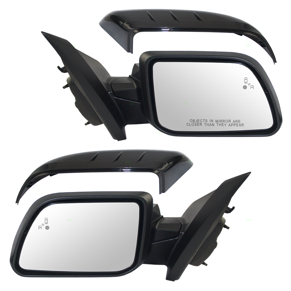 Ford Edge Set Of Side View Power Mirrors Heated Memory Puddle Lamp