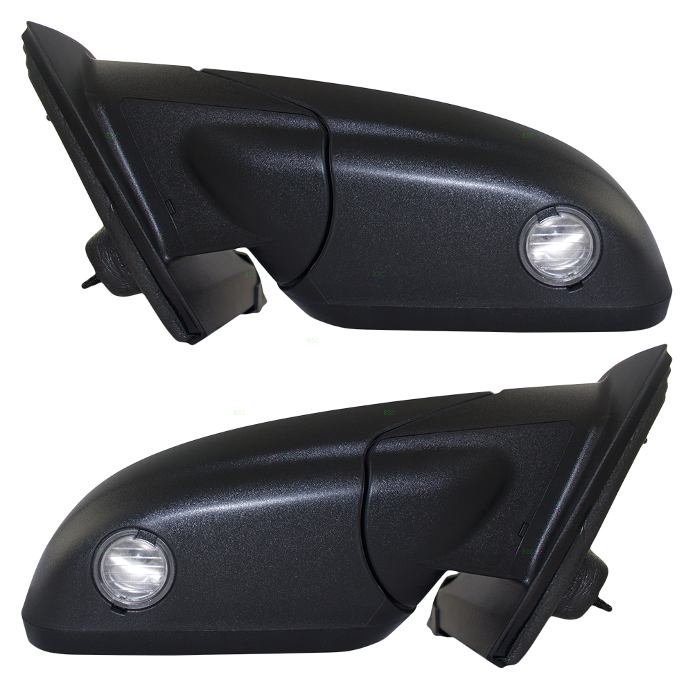 Ford Edge New Pair Set Power Side View Mirror Heated Memory Puddle