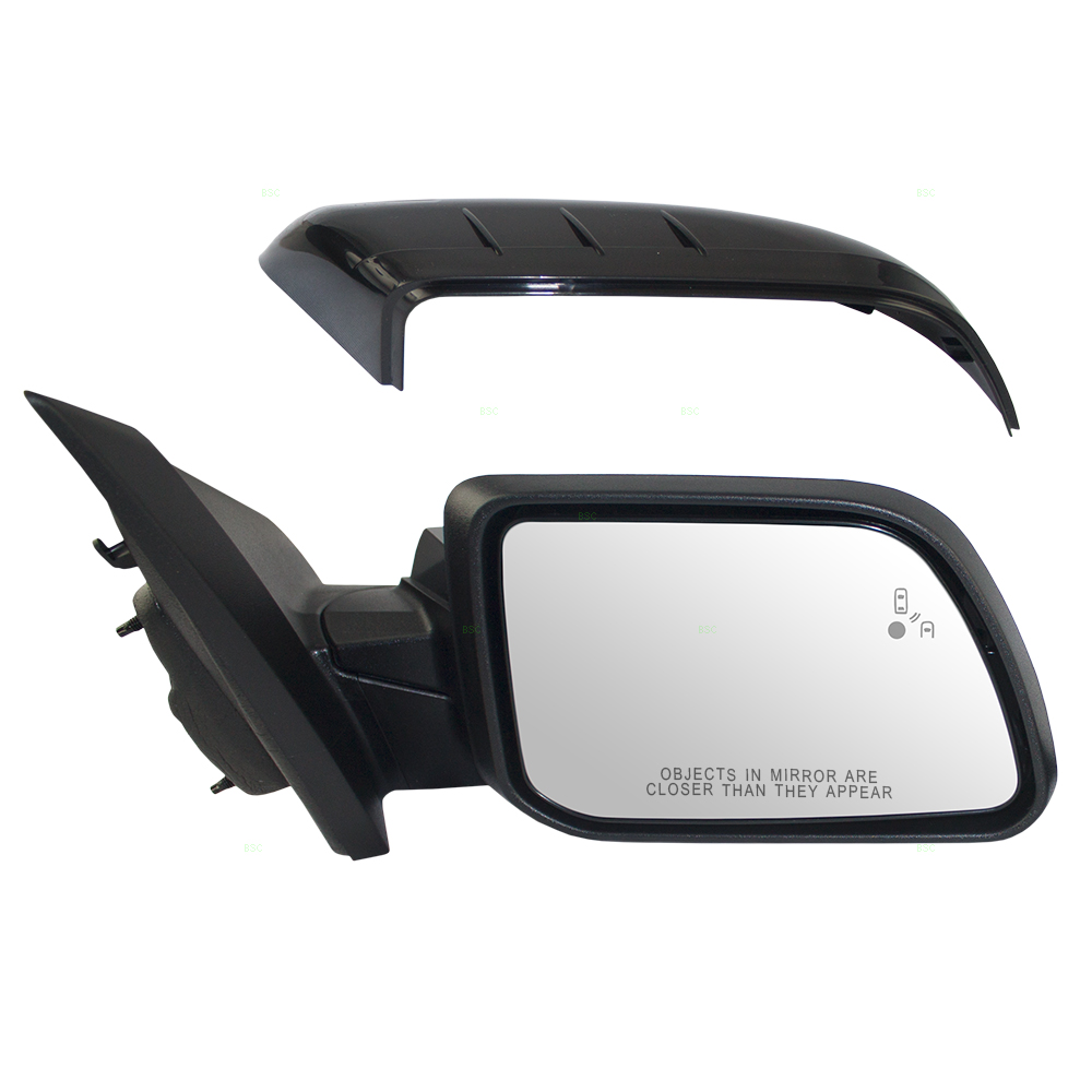 Ford Edge Passengers Side View Power Mirror Heated Memory Puddle Lamp W
