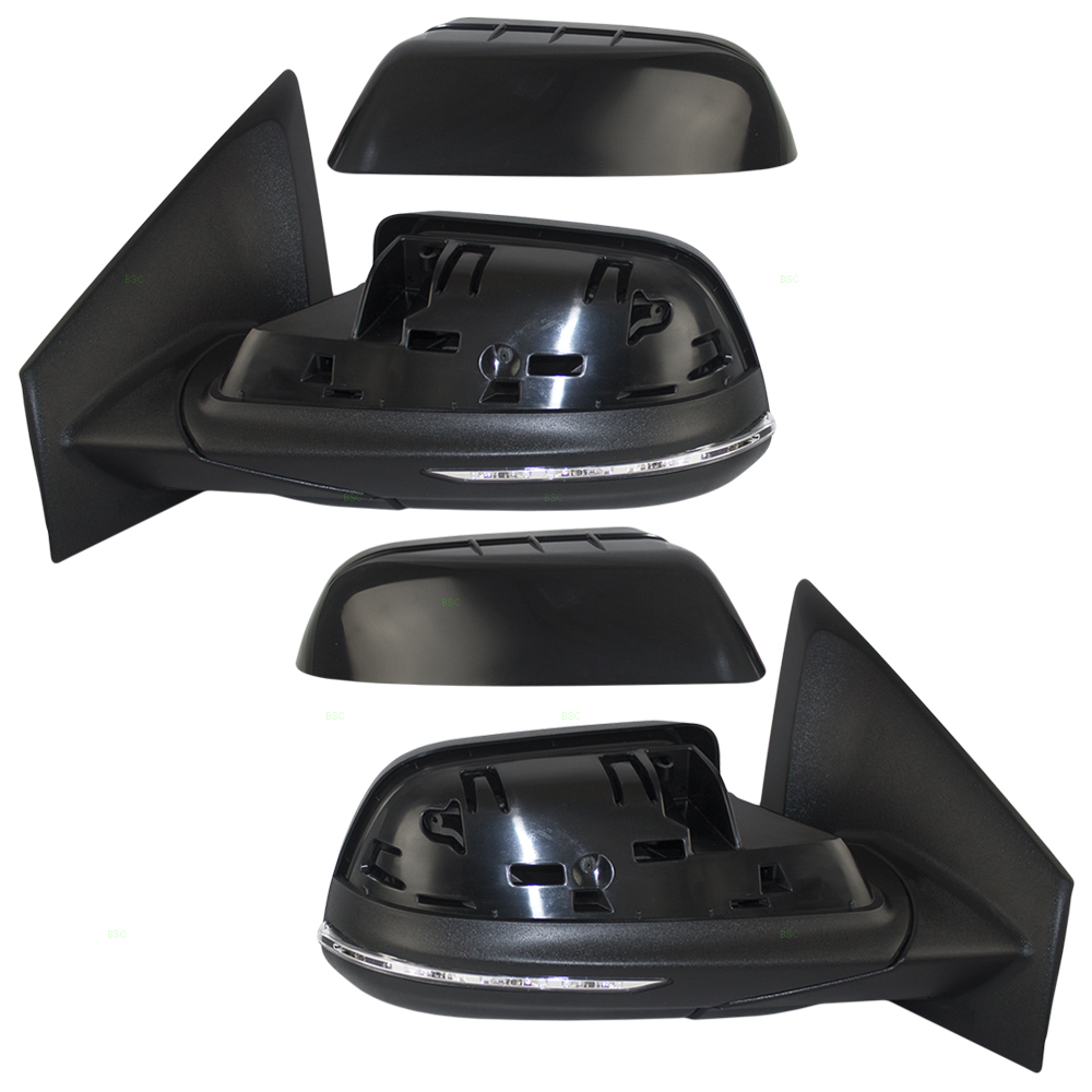 Ford Edge Set Of Side View Power Mirrors Heated Memory Puddle Lamp Signal W Blind Spot Detection