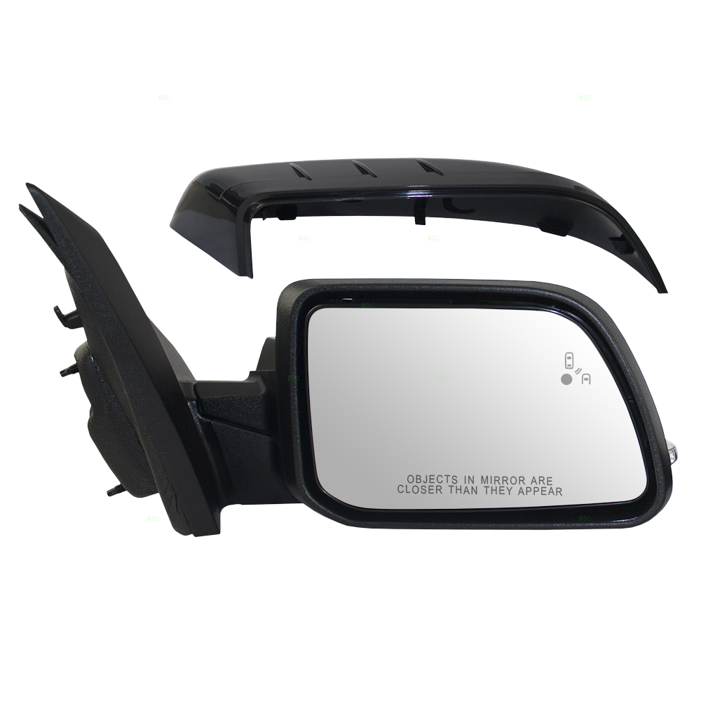 Ford Edge Passengers Side View Power Mirror Heated Memory Puddle Lamp Signal