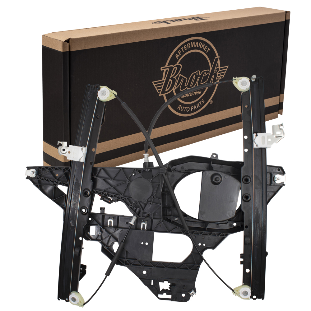 03-06 Ford Expedition Lincoln Navigator Drivers Front Power Window Lift  Regulator & Motor Assembly ...