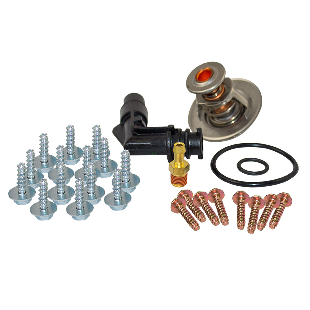 thermostat replacement  ford  diy thermostat