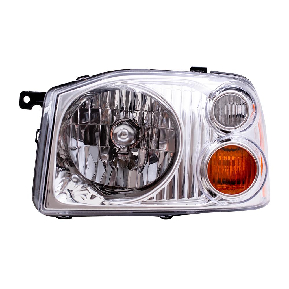 04: 01-04 Nissan Frontier Pickup Truck Drivers Headlight