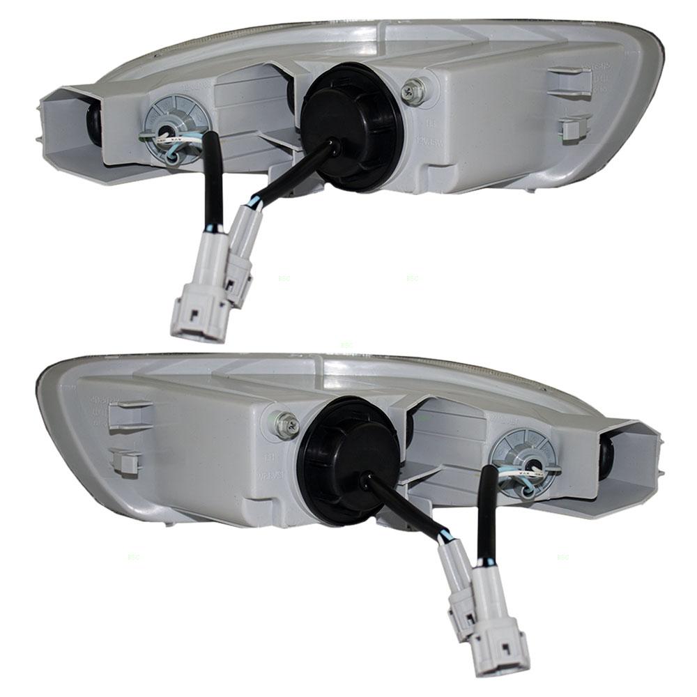 Infiniti I30 I35 Set Of Fog Lights Wiring Diagram