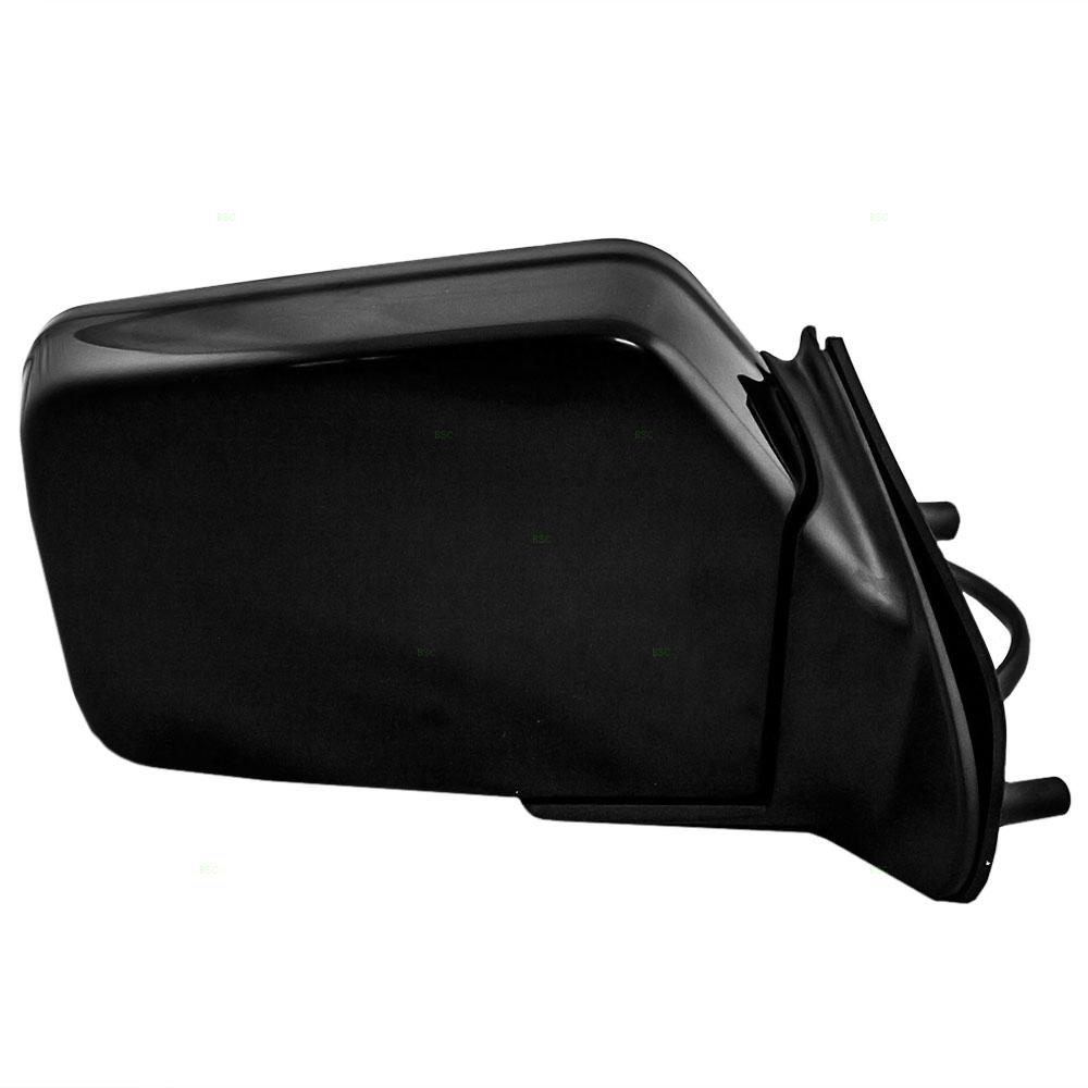Black Hose /& Stainless Red Banjos Pro Braking PBR4660-BLK-RED Rear Braided Brake Line
