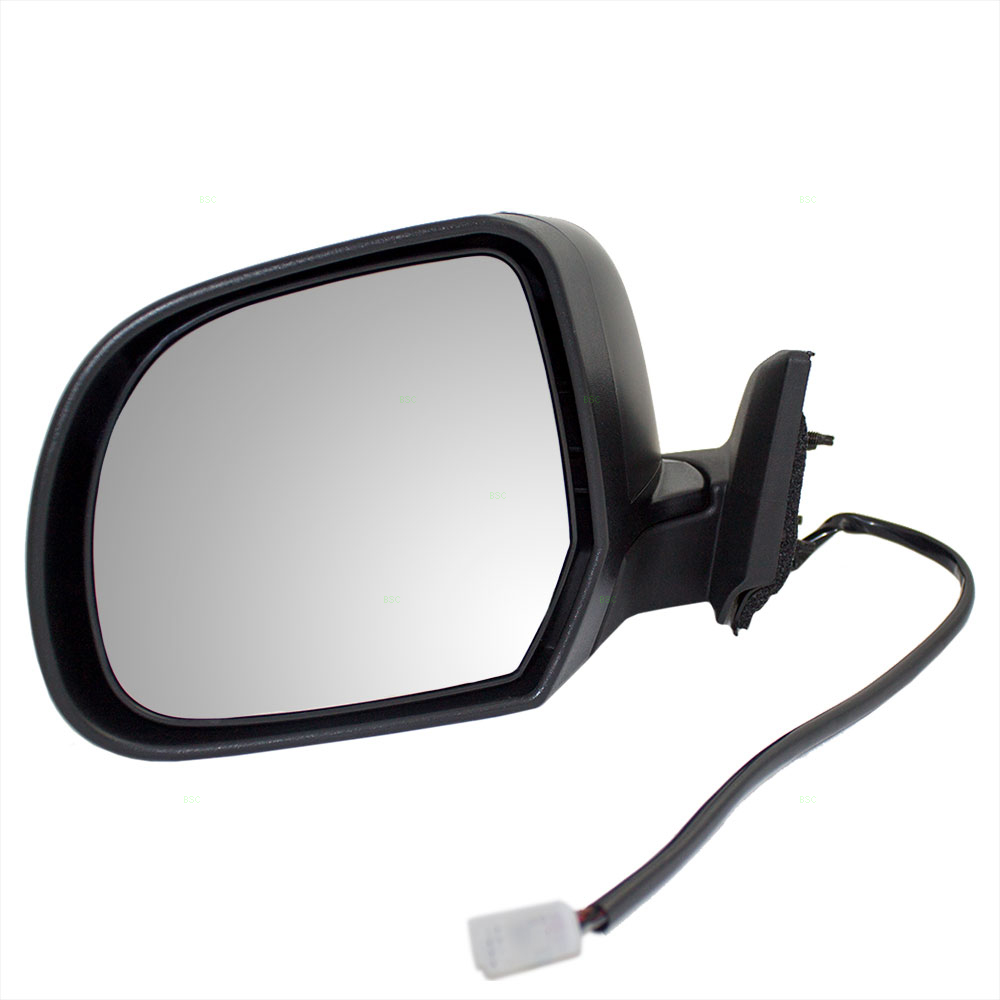 11 12 Nissan Leaf Drivers Side View Power Mirror Heated