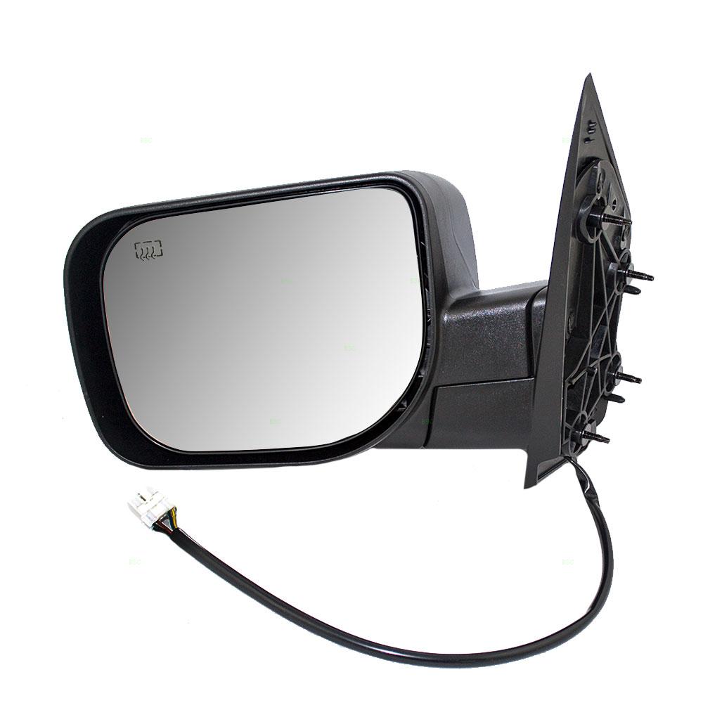 Infiniti Qx56 2011 Driver Side Mirror Glass Manual Guide