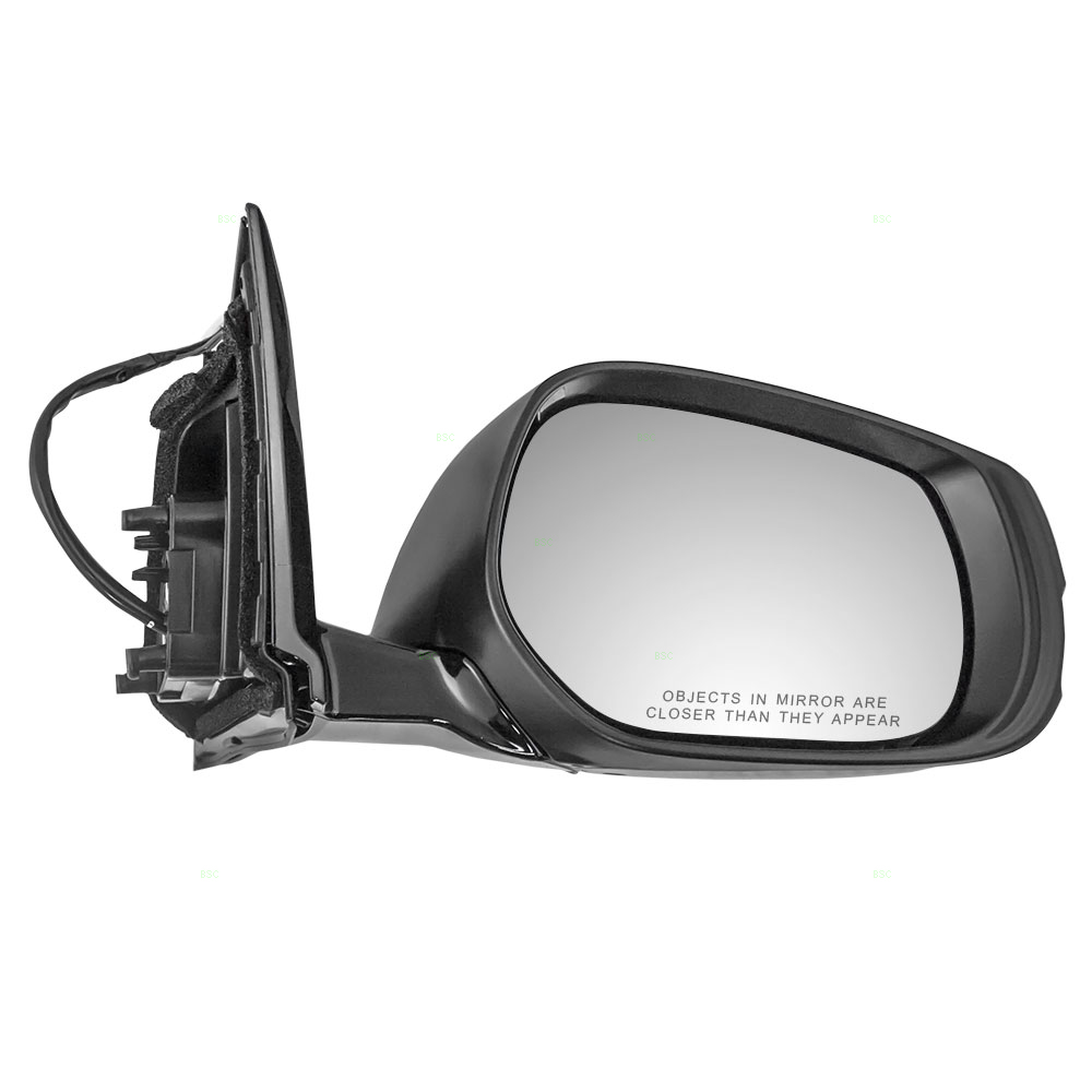 Brock Supply 14 15 In Q50 Power Mirror Paint To Match Black W Heat