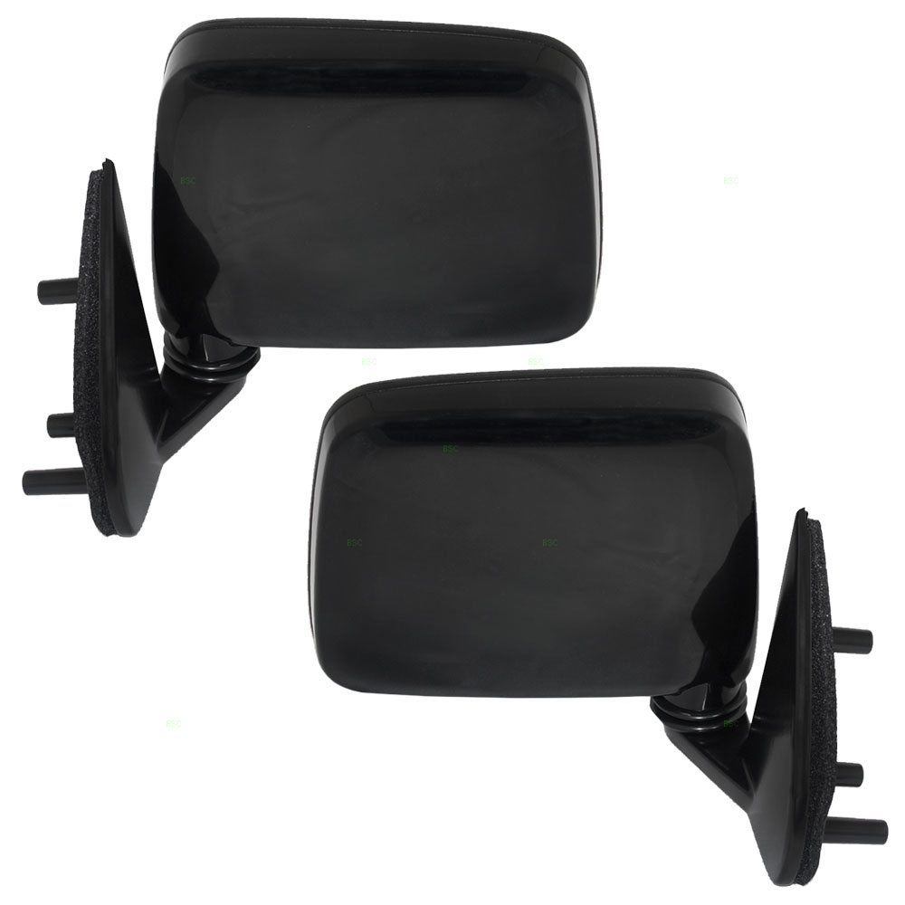 ... Nissan Pickup Truck Pathfinder Set Of Side View Manual Door Mounted  Mirrors ...