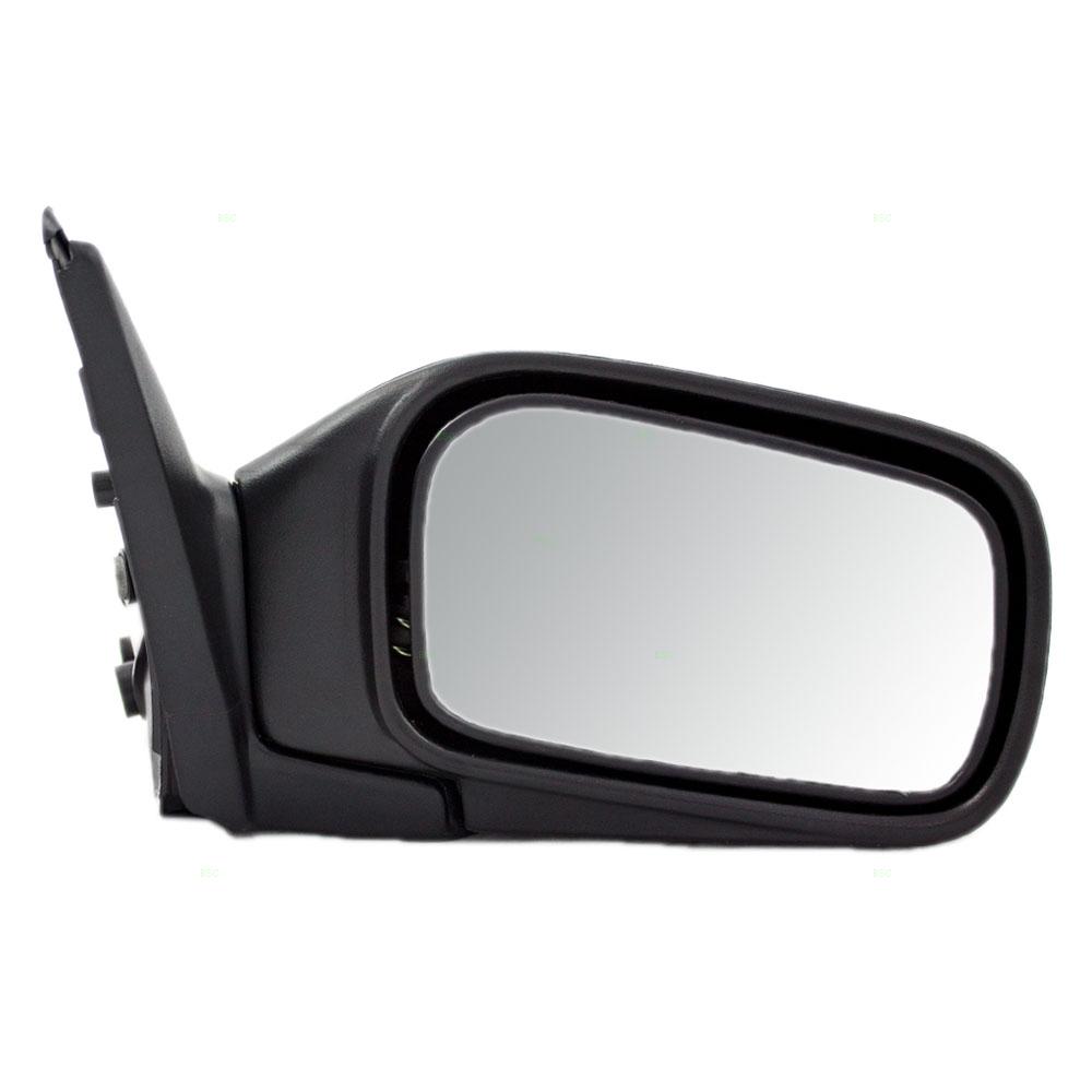 91 94 Nissan Sentra Passengers Side View Manual Mirror