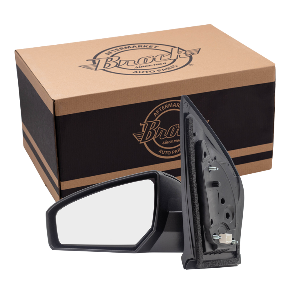 Brock Supply 07 12 Ns Sentra Power Mirror Paint To Match Black W O