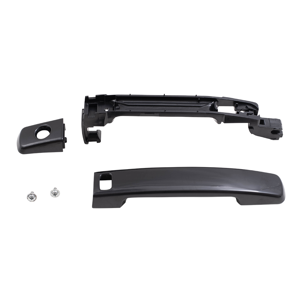 07 12 NS ALTIMA SEDAN OUTSIDE DOOR HANDLE PAINT TO MATCH BLACK FRONT W/