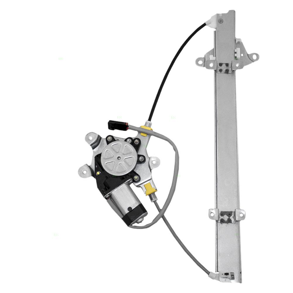 4552 1774R brock supply 91 94 ns sentra power window regulator w motor front rh