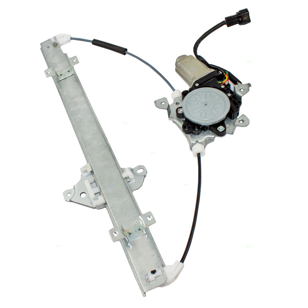 07 12 nissan versa drivers front power window lift regulator with