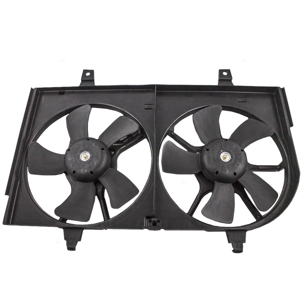 Radiator Dual Cooling Fan /& Motor Assembly for Nissan Maxima Infiniti I35