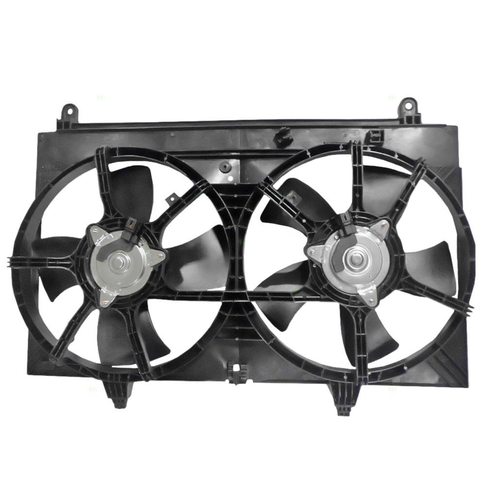 03-08 Infiniti FX35 3.5L Dual Radiator AC A/C Condenser