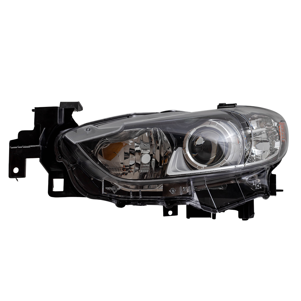 14 17 Mazda6 Mazda 6 New Drivers Halogen Wiring Housing Combination Headlight Headlamp Lens Assembly