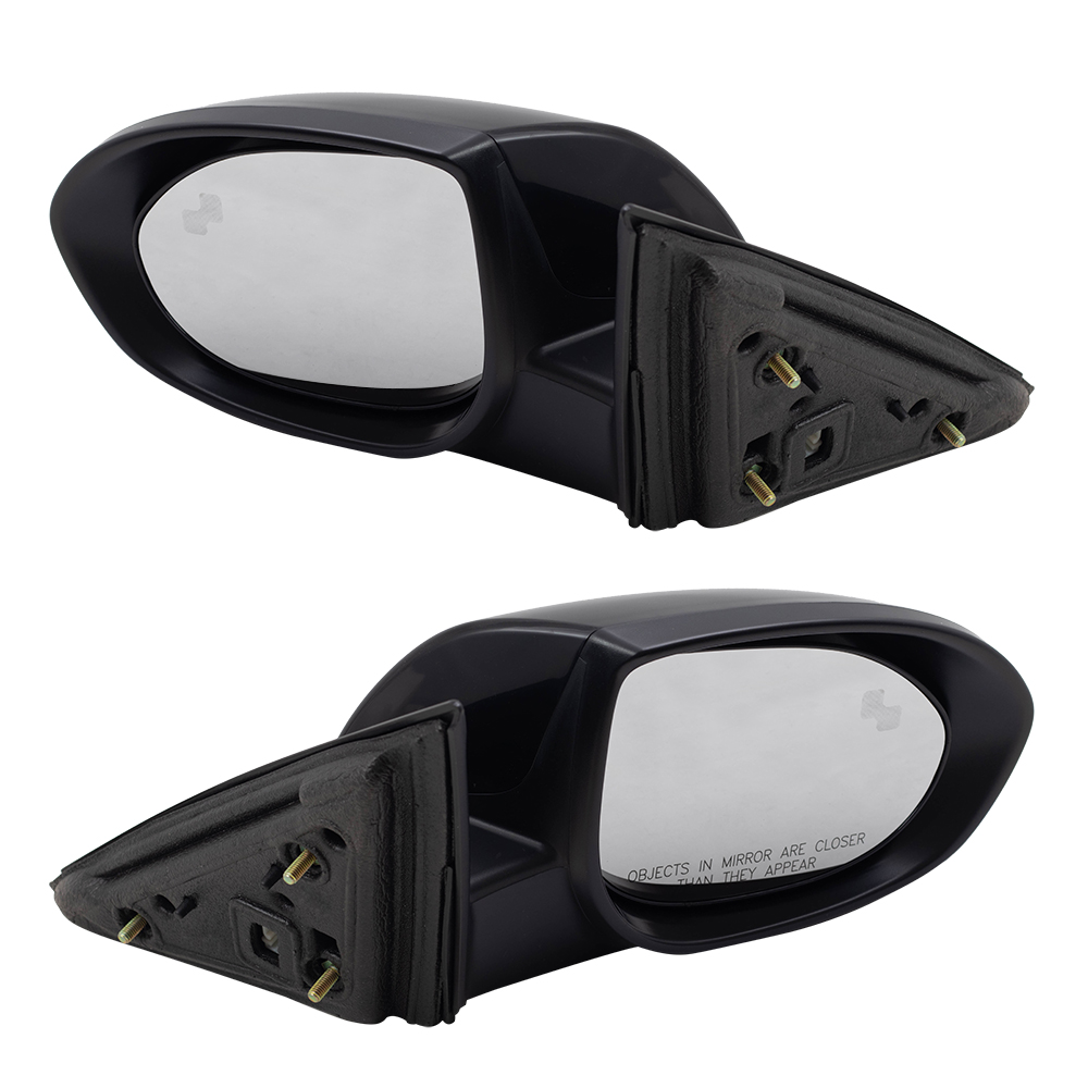 2009 2010 Mazda 6 Mazda6 Pair Power Side Mirrors Heated Puddle Lamp Blind Spot Detection Set Everydayautoparts Com