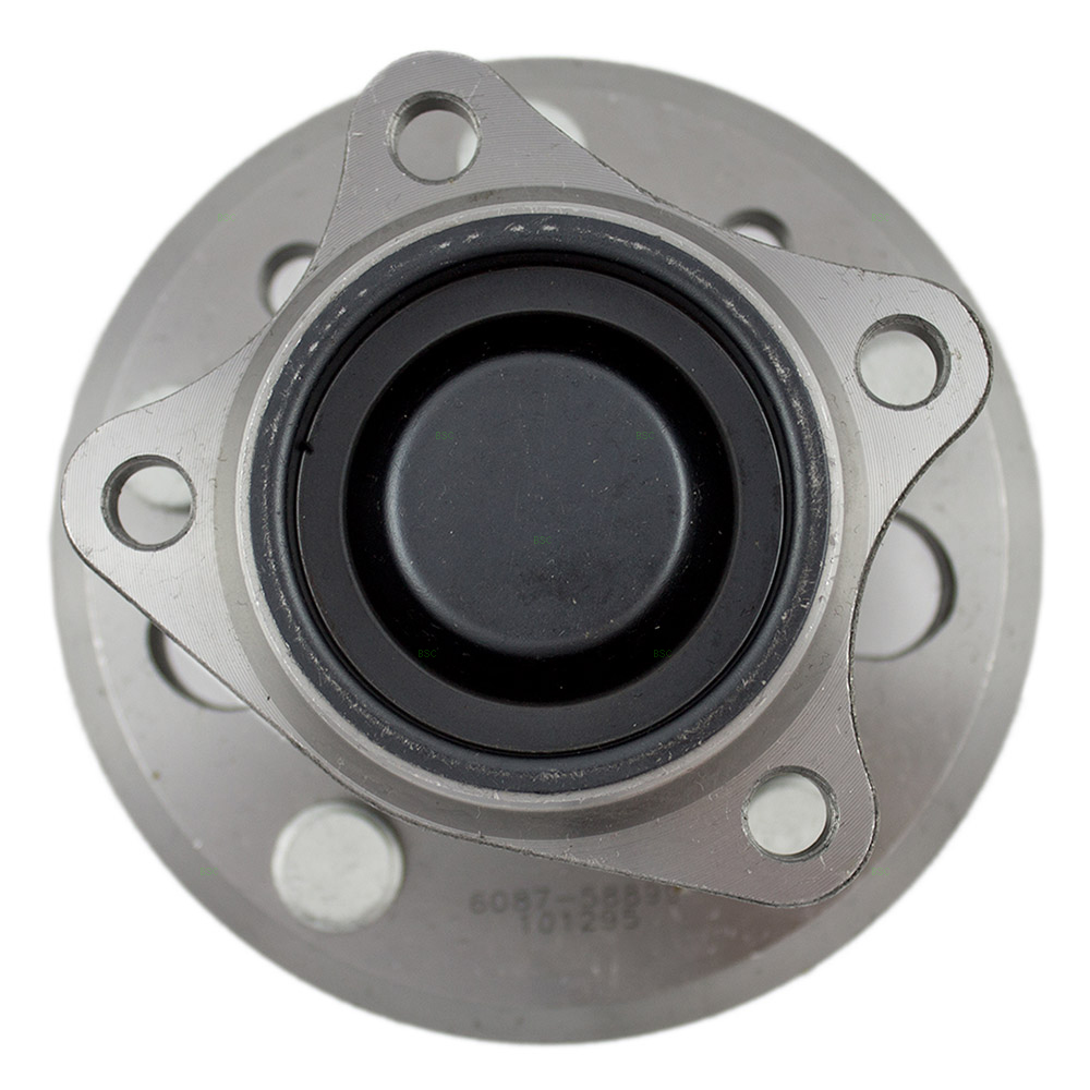 AutoandArt.com - 02-06 Toyota Camry New Rear Wheel Hub Bearing Assembly Aftermarket Replacement