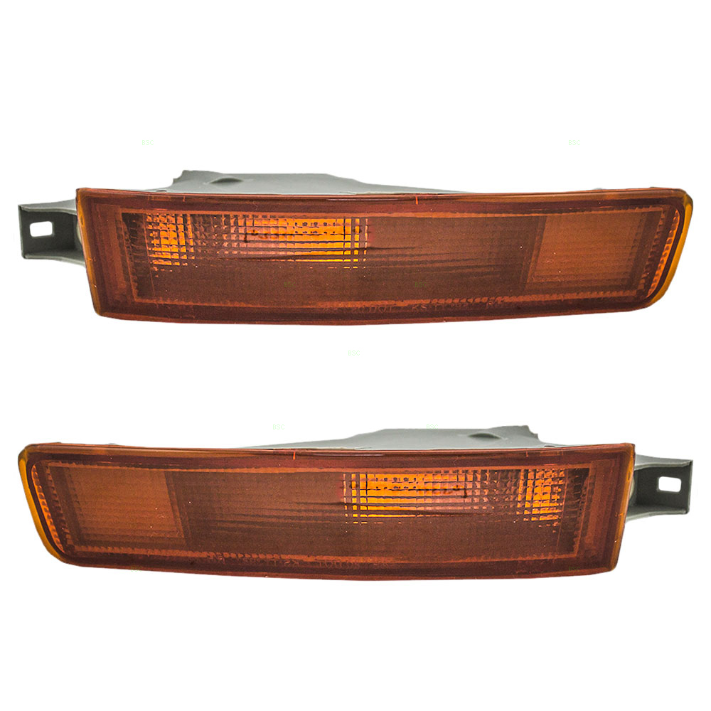 92 94 Toyota Camry Set Of Side Signal Marker Lights