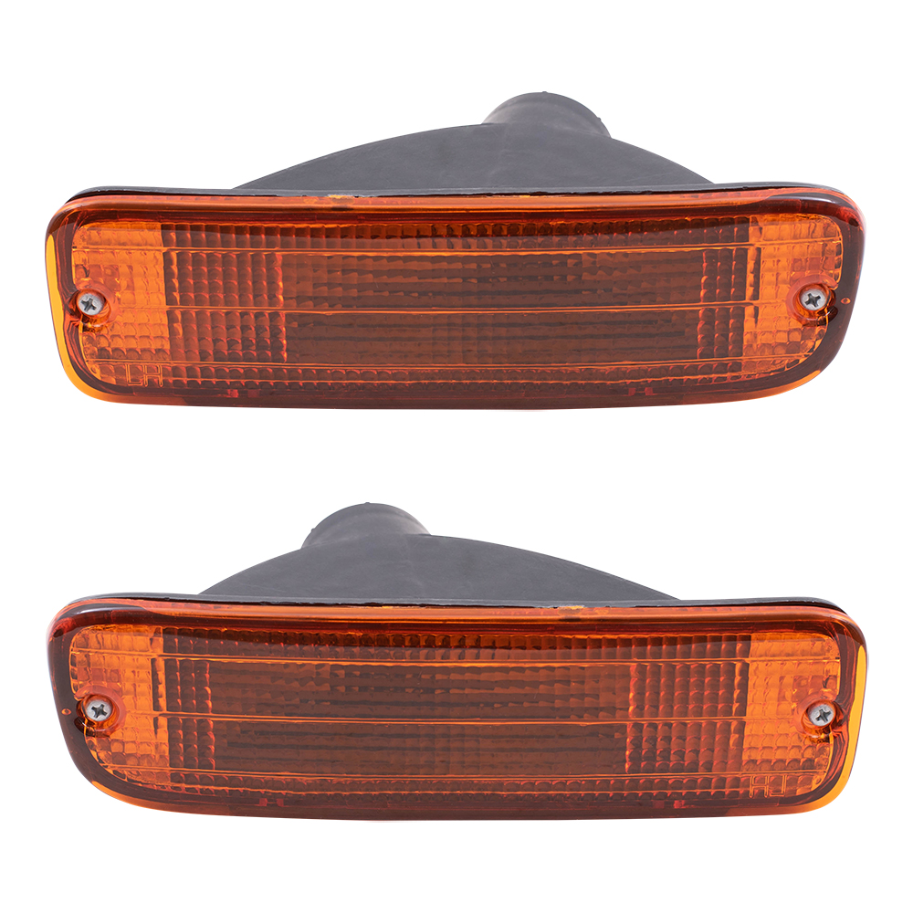 95-00 Toyota Tacoma Pickup Truck Set Of Front Park Signal
