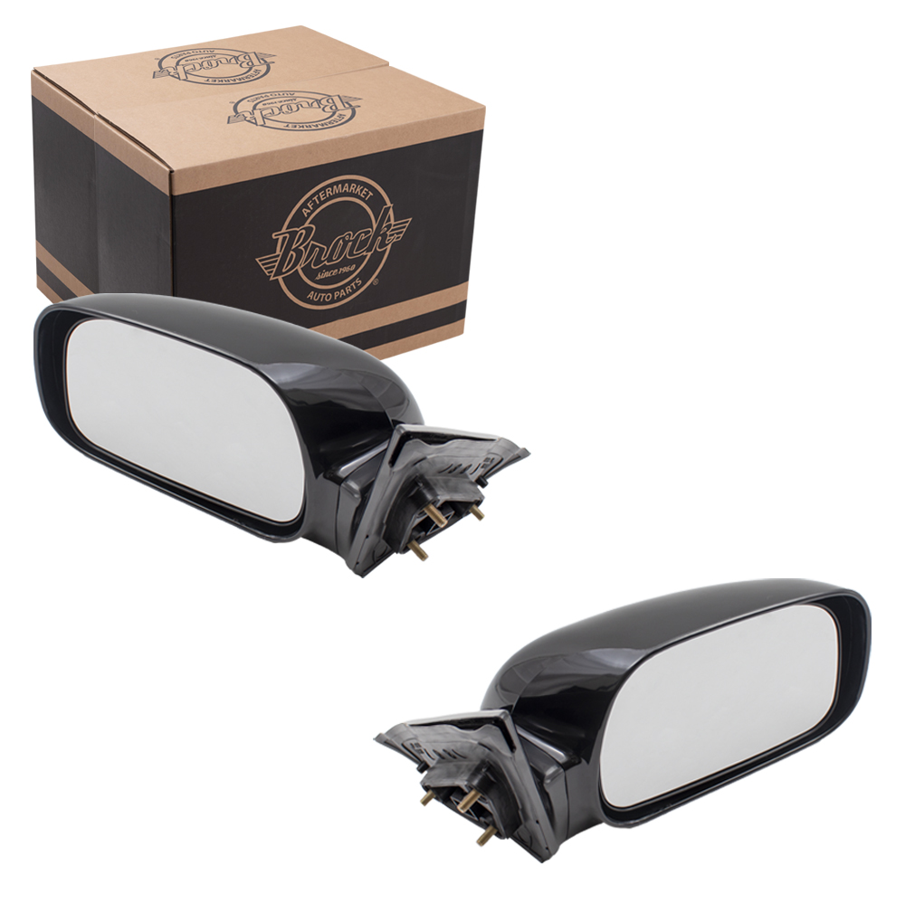 02 06 Toyota Camry Japan Usa Set Of Side View Power Mirrors
