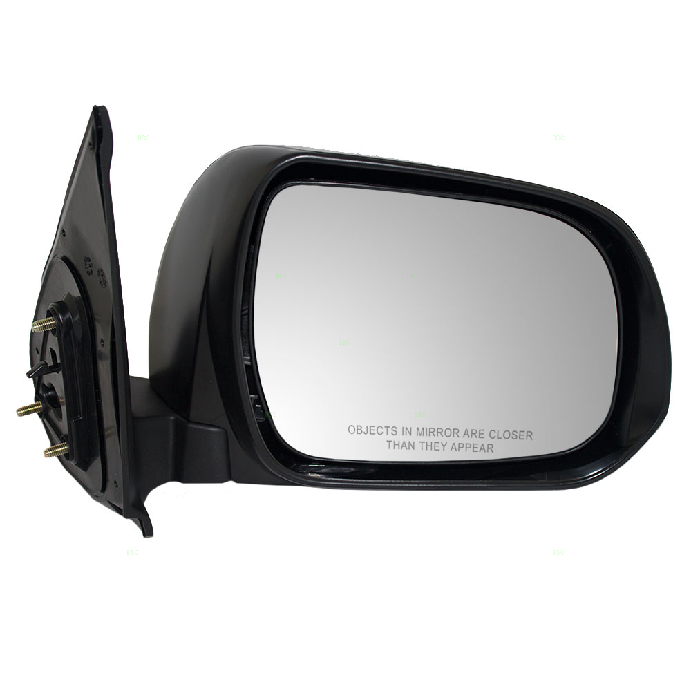 Drivers Manual Side View Mirror Textured Replacement for Toyota Tacoma Pickup Truck 87940-04221