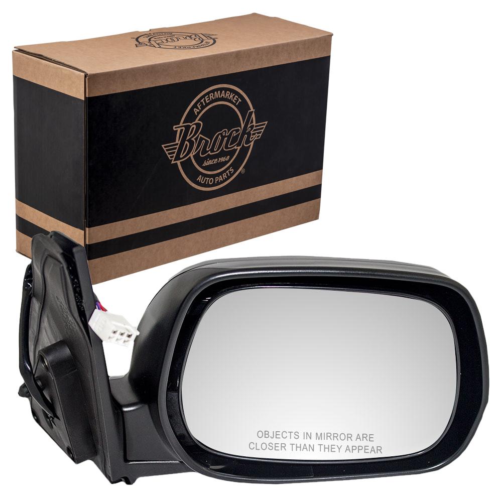 Fits Toyota RAV4 01-05 Set of Side View Power Mirrors 8794042730 8791042790
