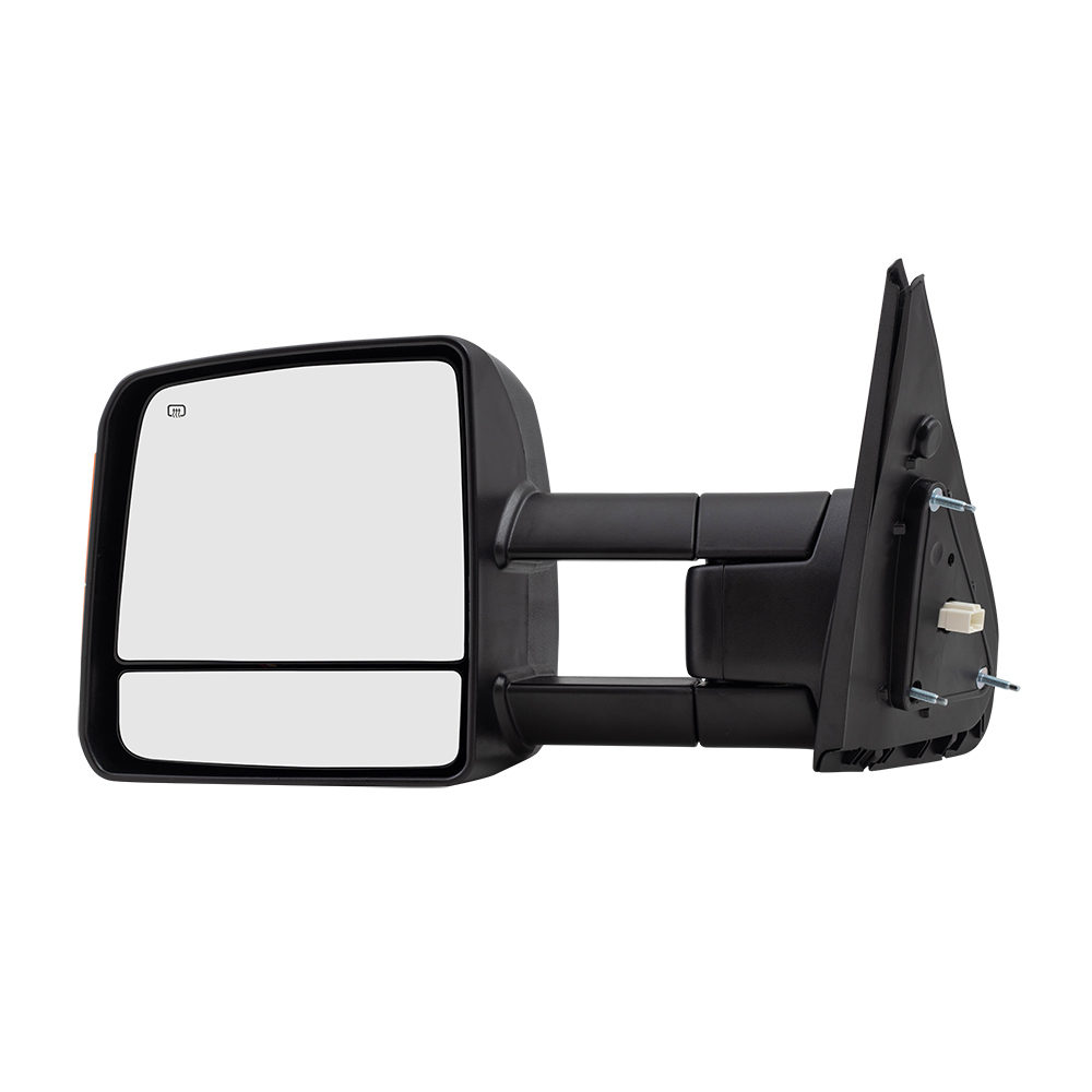 Drivers Power Tow Side View Mirror Heated Signal Manual Telescopic Replacement for 07-18 Toyota Tundra Pickup Truck 879400C221