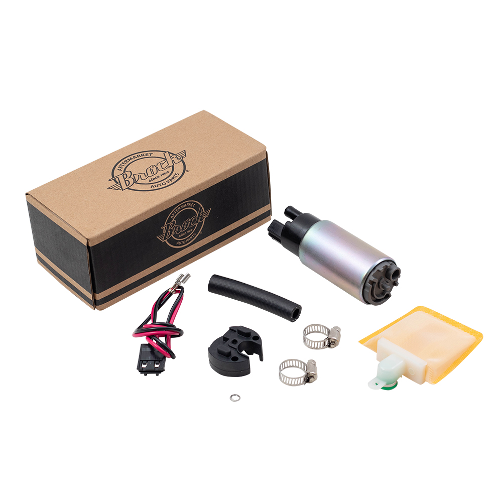 Brock Supply 90 12 Ty Various Models Electric Fuel Pump W Gm Picture Of Installation Kit 92