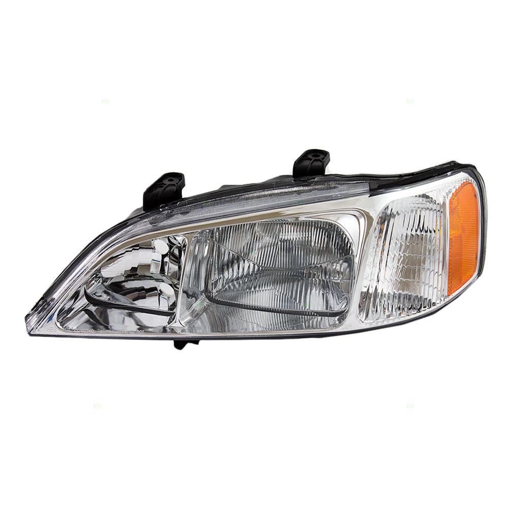 99 01 Acura TL Drivers HID Combination Headlamp Headlight Lens W Housing Unit