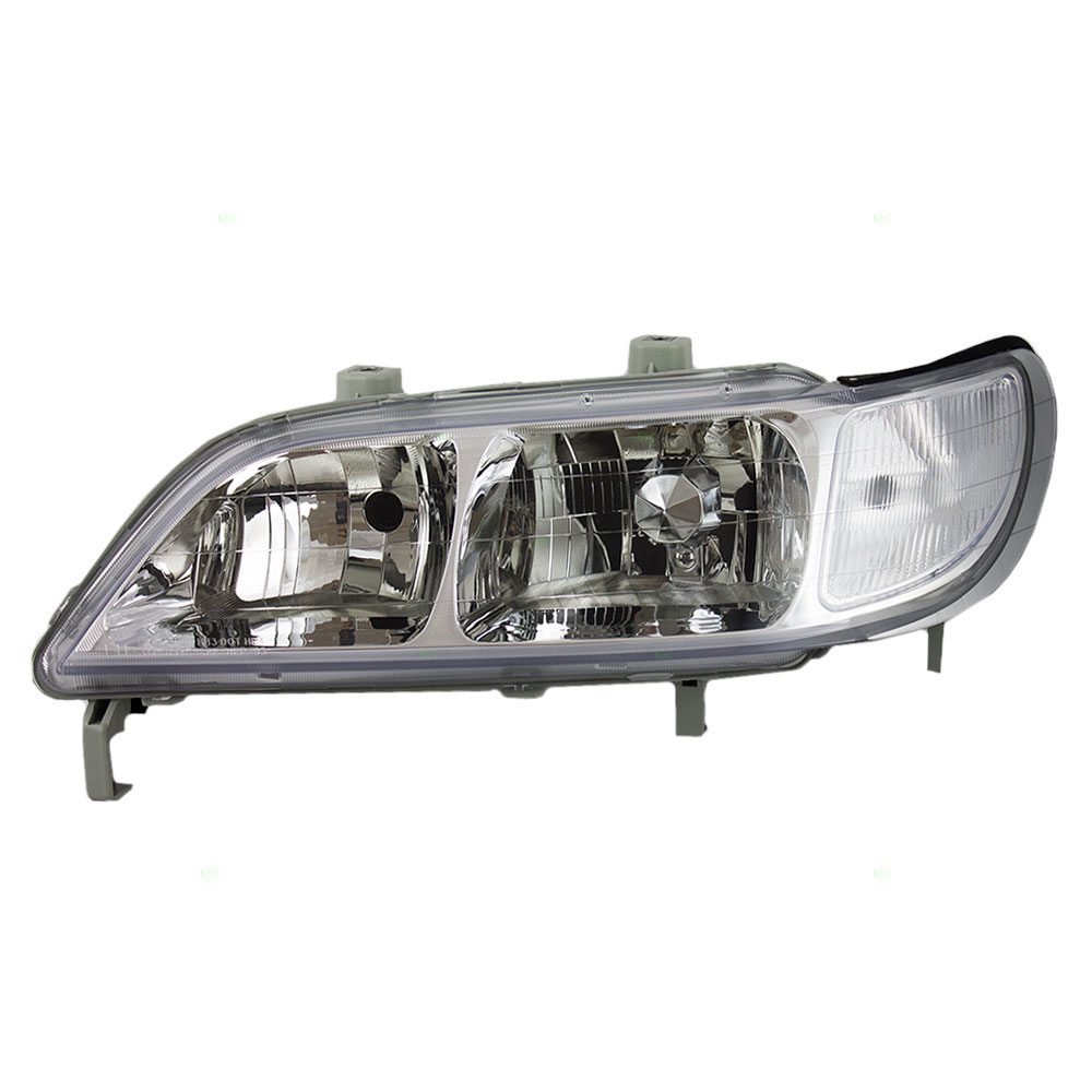 97 99 Acura CL Drivers Headlight Assembly