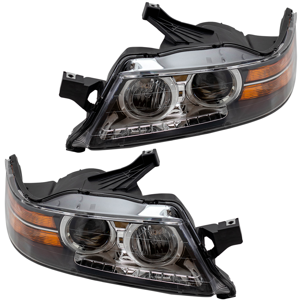 HID Headlights Front Lamps Pair Set for 09-11 Acura TL Left /& Right