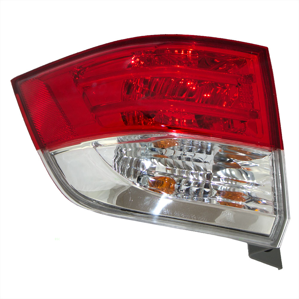 2014 2015 2016 Honda Odyssey Van Drivers Taillight Assembly - Quarter Panel Mounted Lens ...
