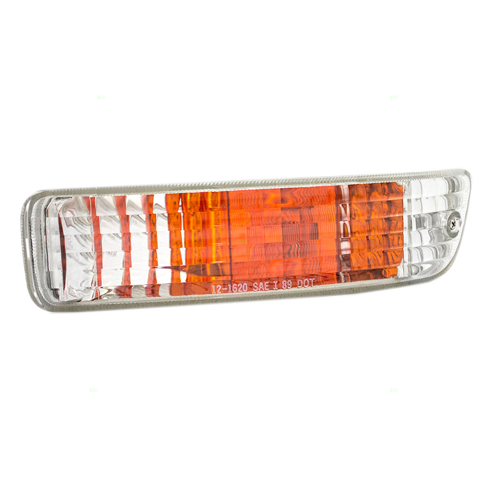 92 93 Acura Integra Drivers Front Park Signal Marker Light Assembly