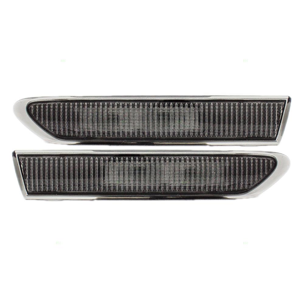 04-08 Acura TL Set Of Front Side Park Signal Marker Lights