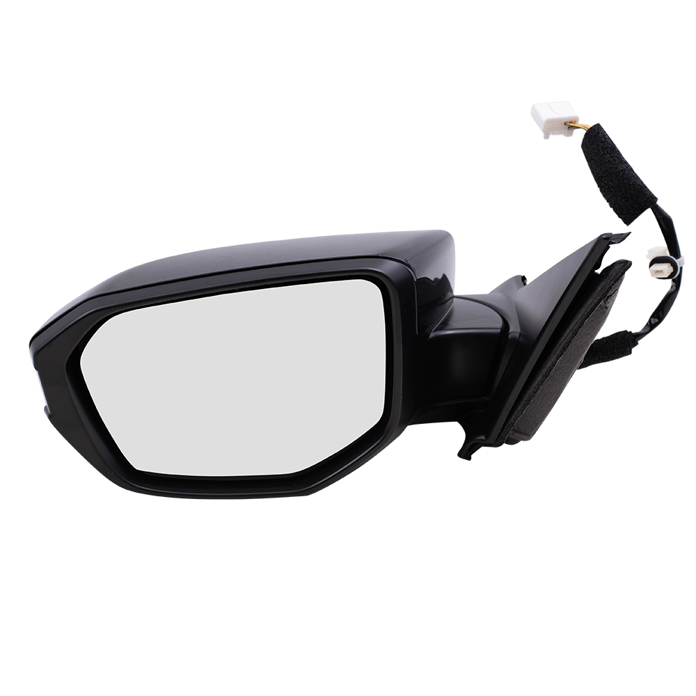 2017-2019 Honda Civic Driver Side Power Door Mirror; Without Heated Glass; Without Turn Signal; Paint To Match; Flat Glass Partslink HO1320314