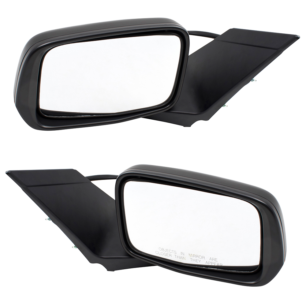 11 15 Honda Cr Z Set Of Side View Power Mirrors Heated Signal Glass